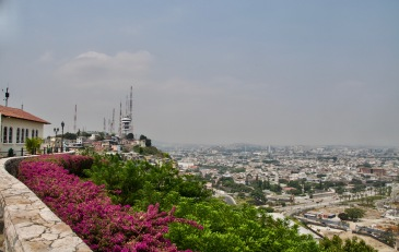 Cerro Santa Ana viewpoint