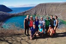Group photo at Darwin Lake