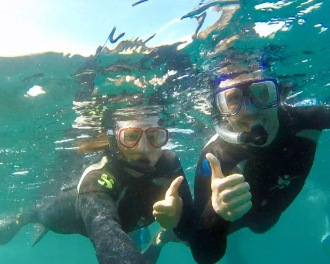 Us Snorkelling
